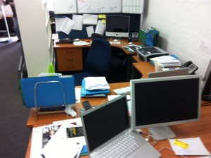 Before the KND office refit