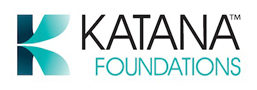 katana foundations logo building & construction industry