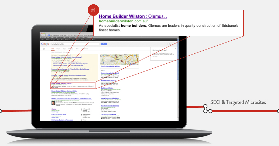 #1 Google Positioning SEO and eMarketing Strategy