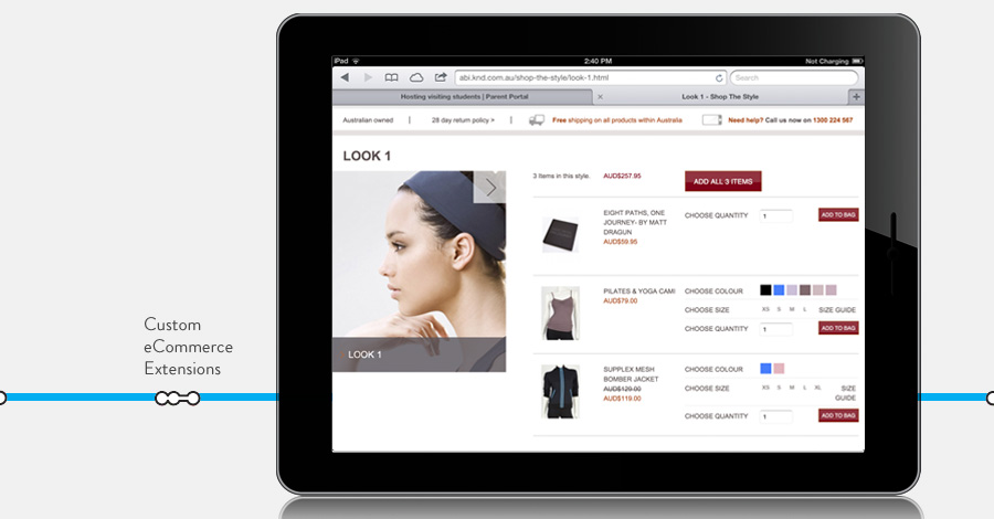 Shop the Look Magento Extension