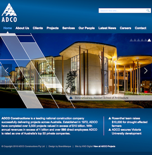 adco constructions case study
