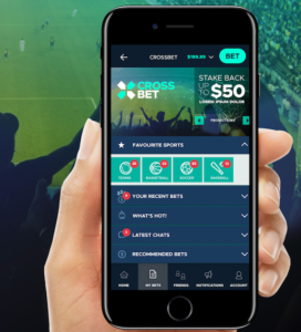 cross bet case study mobile app development by KND Digital