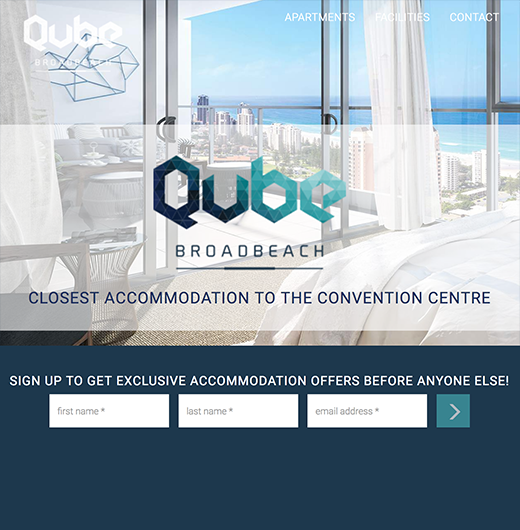 Qube Broadbeach Case Study ux design solutions and website development by knd digital