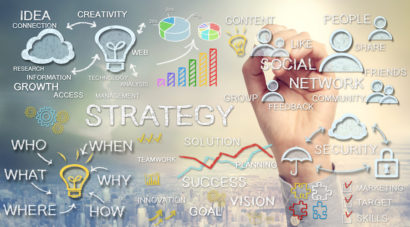the strategy of web design
